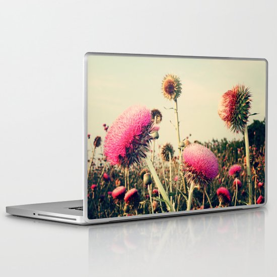 Flower World! Laptop & iPad Skin