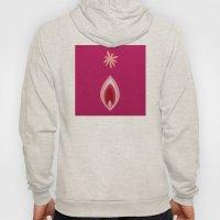 de Flower [pink] Hoody