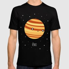 Venus SMALL Black Mens Fitted Tee