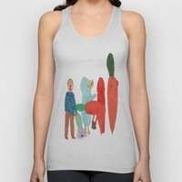 Friends and the garden. Unisex Tank Top