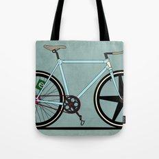 Fixie Bike Tote Bag