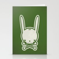 SKULL BUNNY Of PIRATE - … Stationery Cards