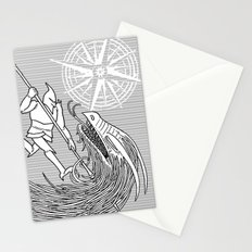 Slaying the Dragon Stationery Cards