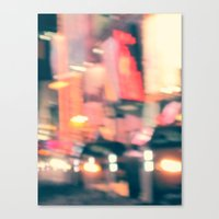 NY Lights Canvas Print