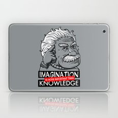 Imagination is more important than knowledge Laptop & iPad Skin