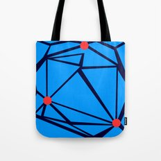 3 Red Dots Tote Bag