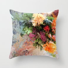 Four Seasons in One Day Throw Pillow