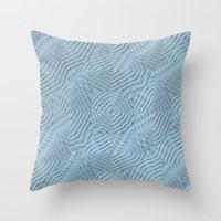 A Calming Blue Throw Pillow