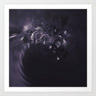 Waves In Space Art Print