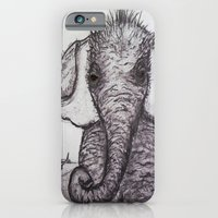 An Adorable Baby Elephan… iPhone 6 Slim Case