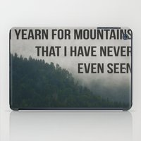 Mountain Yearning  iPad Case