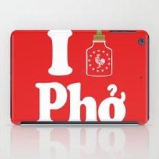 I Heart Pho iPad Case