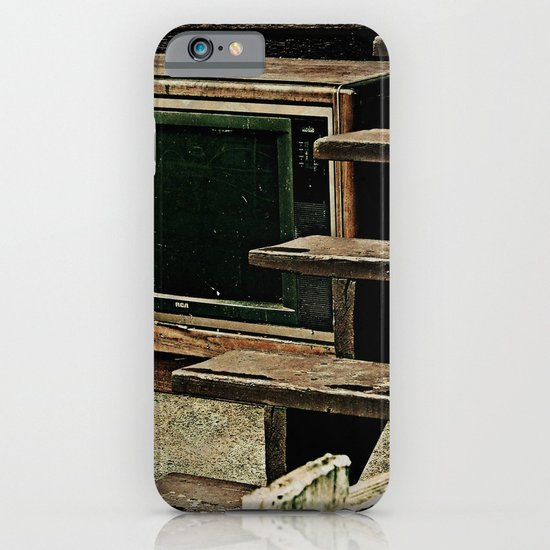 Television Is Not Real Life iPhone & iPod Case