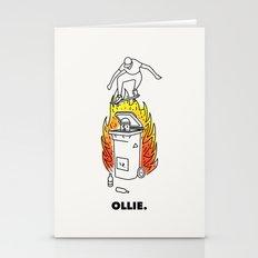 Skate And Destroy: Ollie Stationery Cards