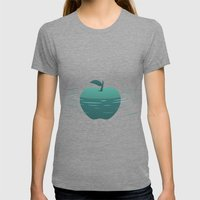 Apple 23 Womens Fitted Tee Tri-Grey SMALL