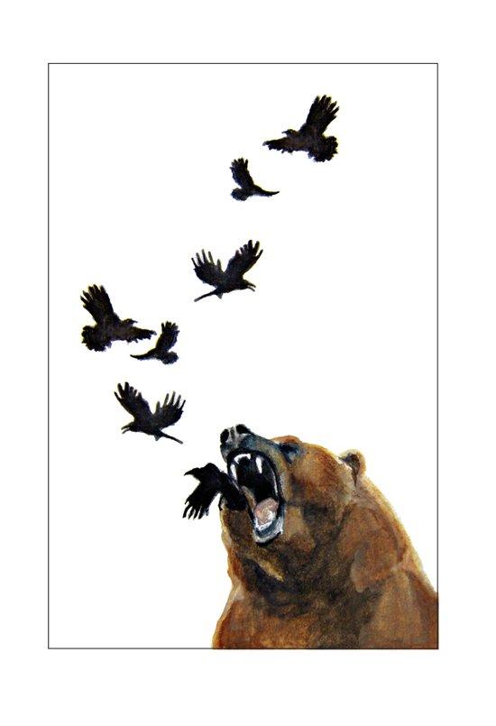 Sacred Outrage Art Print