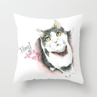 Hey! What's Up? Throw Pillow