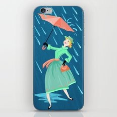 Laughing At Clouds And The Sun Is In My Heart iPhone & iPod Skin