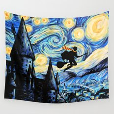 Potter Starry Night Wall Tapestry