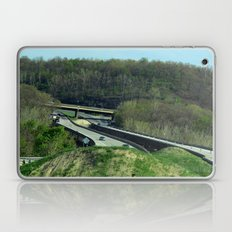 The Vastness of the Highway Laptop & iPad Skin