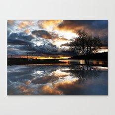 Del Mar Point Sunset Canvas Print