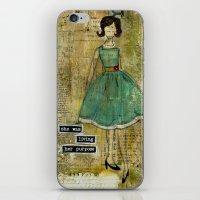 Living Her Purpose iPhone & iPod Skin