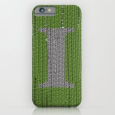 Winter clothes III. Letter i. iPhone 6 Slim Case