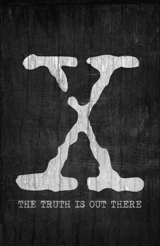 X-Files Poster Canvas Print