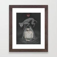 Waning Mercury Framed Art Print