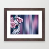 ROSES ABSTRACT Framed Art Print