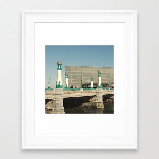 Kursaal Bridge Framed Art Print