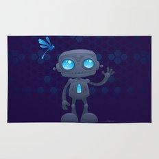 Waving Robot Rug