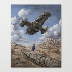 The Time Job - Firefly + Doctor Who  Canvas Print