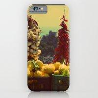 Garlic, Peppers & Lemons in Amalfi, Italy iPhone 6 Slim Case