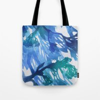 Morning Blossoms 2 - Blu… Tote Bag