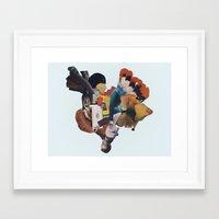 The Nerium Spring Framed Art Print