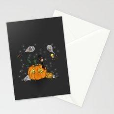Halloween Spirits Stationery Cards