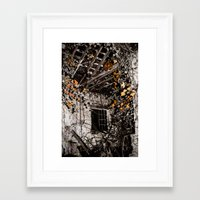 VACANT POSSESSION Framed Art Print