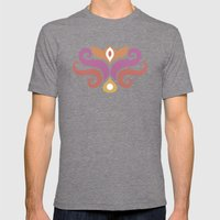 Spiced Swirls [Royal] Mens Fitted Tee Tri-Grey SMALL