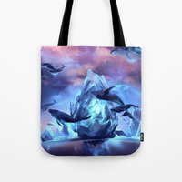 When the moon is closer Tote Bag