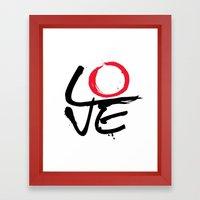 LOVE CYCLE Framed Art Print