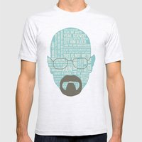 Walter White said Mens Fitted Tee Ash Grey SMALL