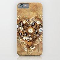 Steampunk Heart Love iPhone 6 Slim Case