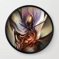Wildflower Nephilim Wall Clock