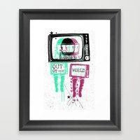 Out Of This World Framed Art Print