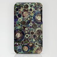 iPhone 3Gs & iPhone 3G Cases featuring Stone Pattern Fantasy by Klara Acel