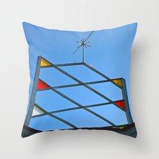 Atomic Age Bowling Throw Pillow