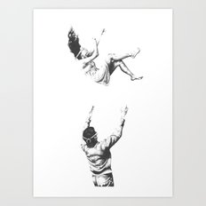 Blindsided Art Print