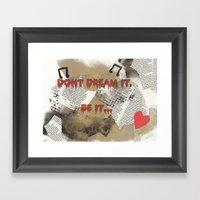 Rocky Horror - Don't Dre… Framed Art Print