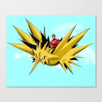 Flash-Dos Canvas Print